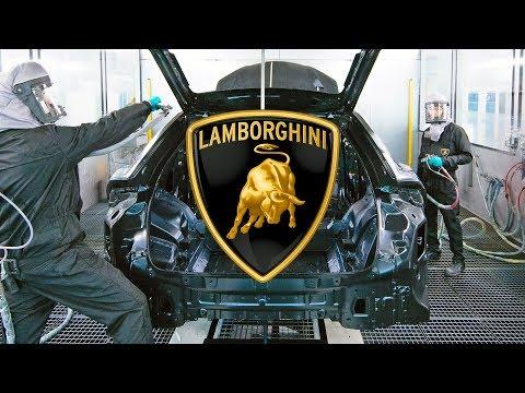 Lamborghini Urus FACTORY ? Paint Shop