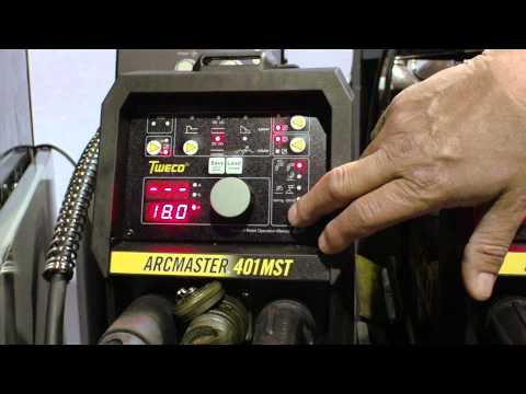 ArcMaster Controls for 6010, Gouging and Mixed Gas or CO2 Explained