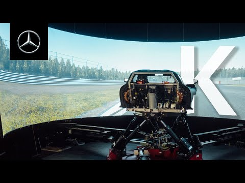 INSIDE AMG – Kinematics | Can Felix Master the AMG Driving Simulator?