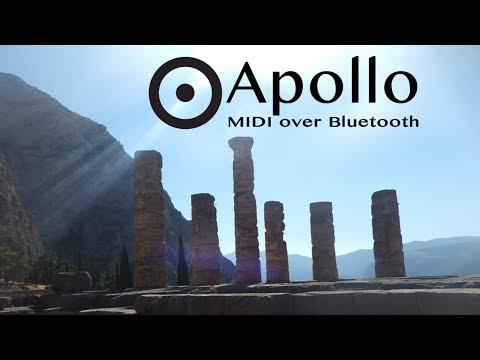 Apollo MIDI over Bluetooth for iOS and OSX