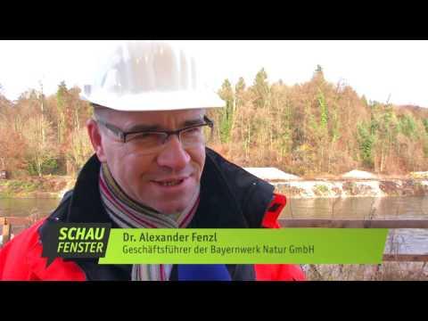 München TV: Hochmoderne Turbine im Wasserkraftwerk Baierbrunn eingehoben