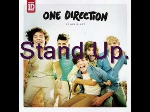 One Direction - Stand Up.  LYRICS (FULL VERSION)