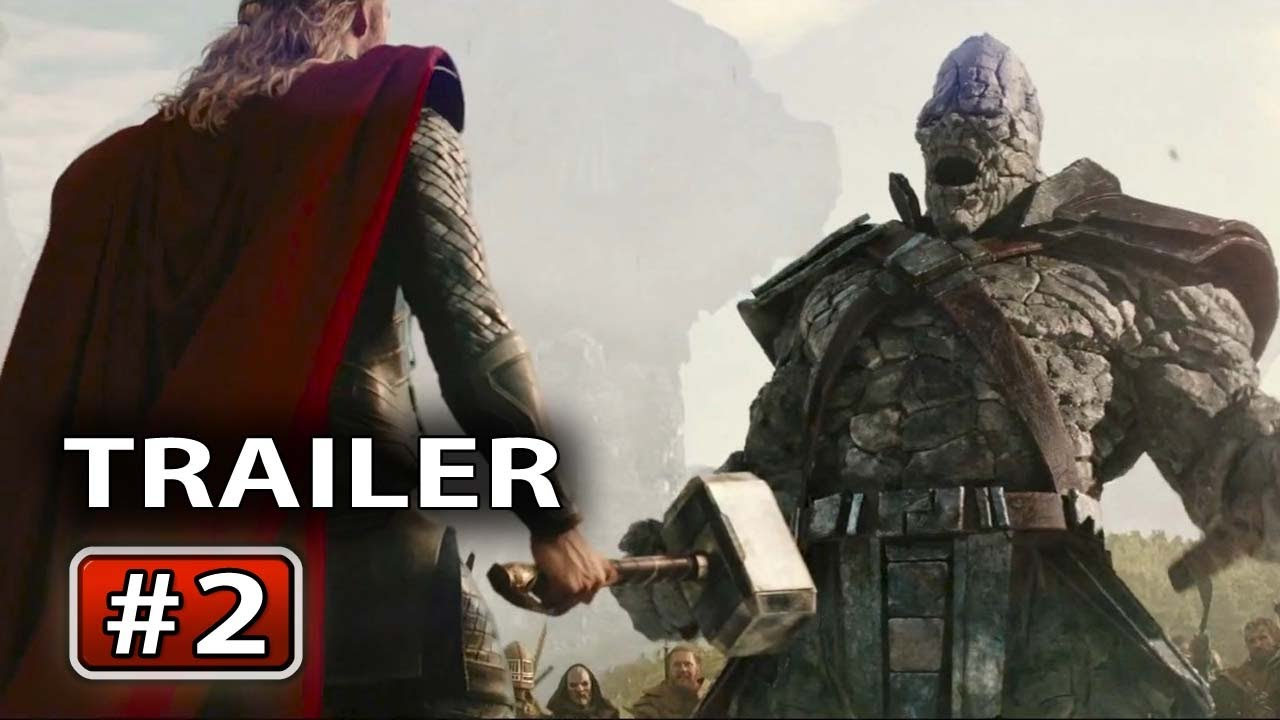 Google Easter Eggs List >> THOR 2 : The Dark World Trailer # 2 - YouTube