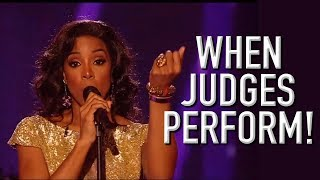 Judges Performing On X Factor! | X Factor Global