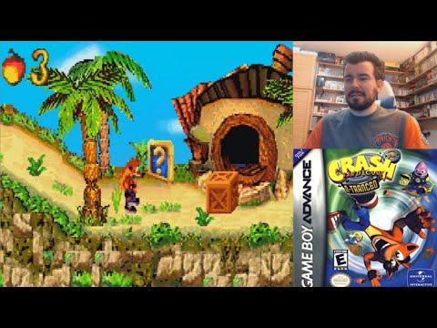 CRASH BANDICOOT 2: N-TRANCED (GBA) - Gameplay en Español Game Boy Advance || ¿MORRALLA CLÁSICA?