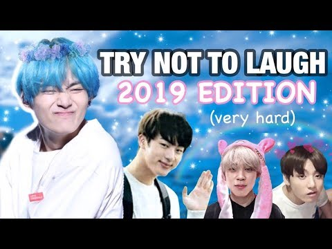 BTS (방탄소년단) TRY NOT TO LAUGH CHALLENGE: 2019 EDITION (very hard)