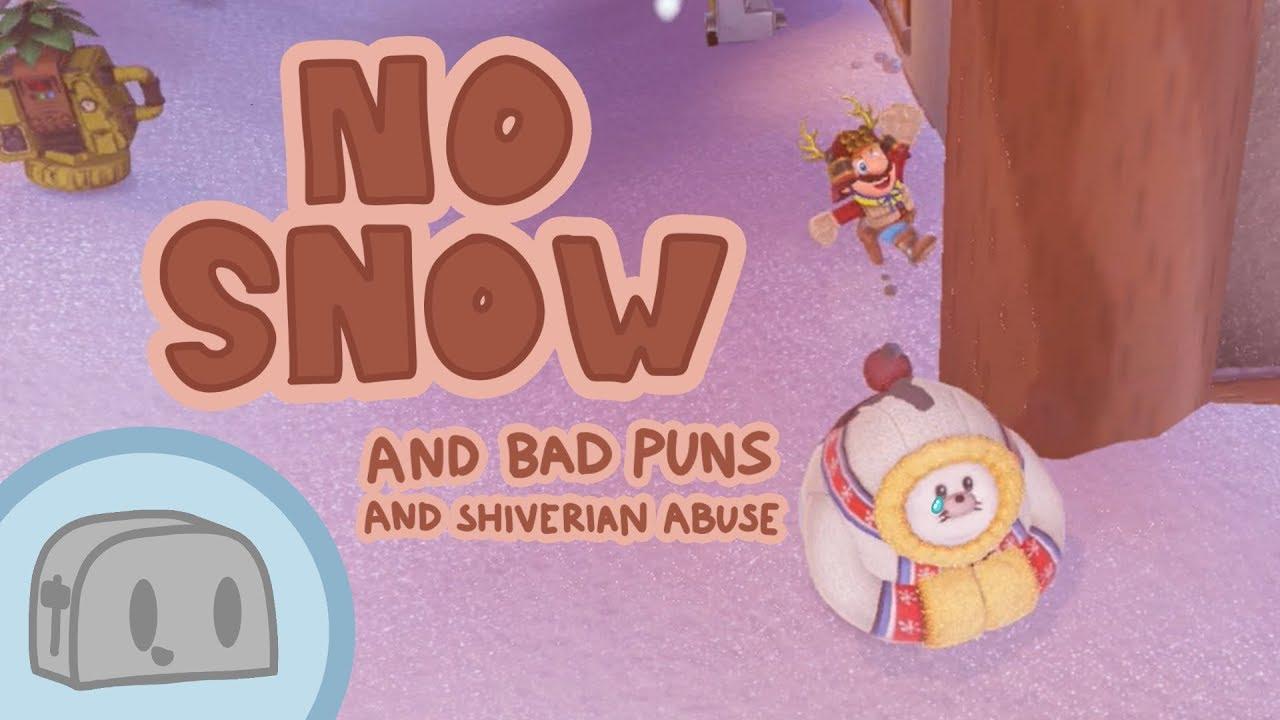 Getting Through Shiveria Town Snowless! (Super Mario Odyssey)