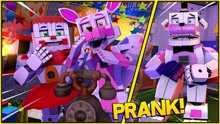 Minecraft Fnaf: Pranking Calling Funtime Freddy At 3 Am (Minecraft Roleplay)