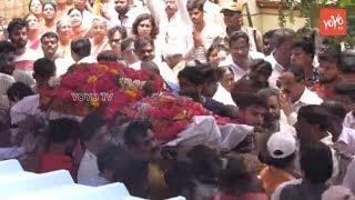 Bandaru Dattatreya's Son Vaishnav Funeral Video..