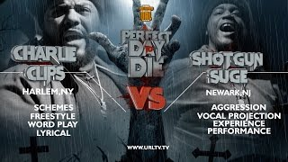 CHARLIE CLIPS VS SHOTGUN SUGE SMACK/ URL RAP BATTLE | URLTV