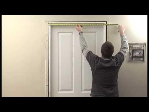 Jeld Wen How To Measure An Interior Door Hd Youtube