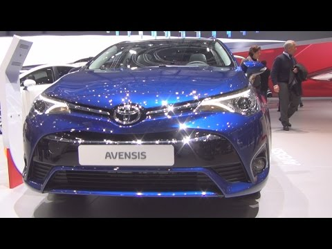Toyota Avensis Touring Sports 2.0 Valvematic Multidrive S Trend (2016) Exterior and Interior in 3D