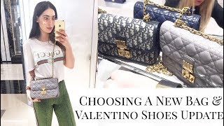 Vlog: Choosing A New Bag | Dior, Gucci, Saint Laurent