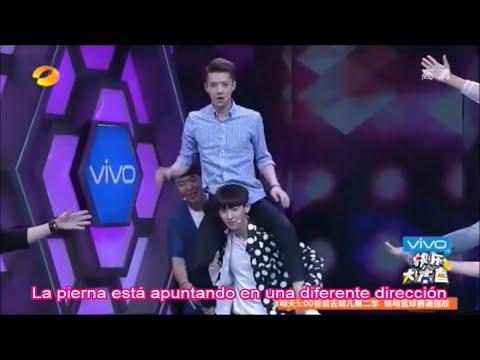 [SUB ESPAÑOL] 140705 EXO Happy Camp (4-8)
