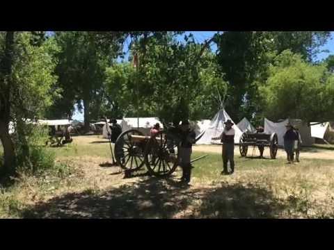 U.S. Cavalry School at the Little Bighorn Battlefield