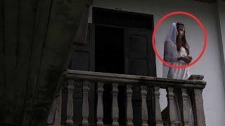TOP Scariest Ghost Footage Caught On Tape - White Lady Ghost Sighting