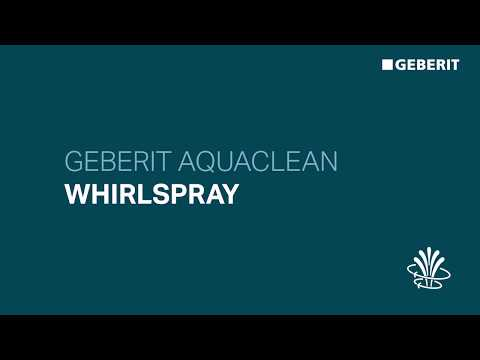 Geberit AquaClean WhirlSpray