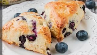 Feta Cheese & Blueberry Scones