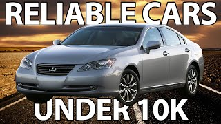 Top 7 Most RELIABLE Cars Under 10K