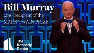 Bill Murray Acceptance Speech   2016 Mark Twain Prize