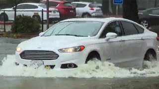 Atmospheric River Storm Pummels Northern California With Historic Rainfall