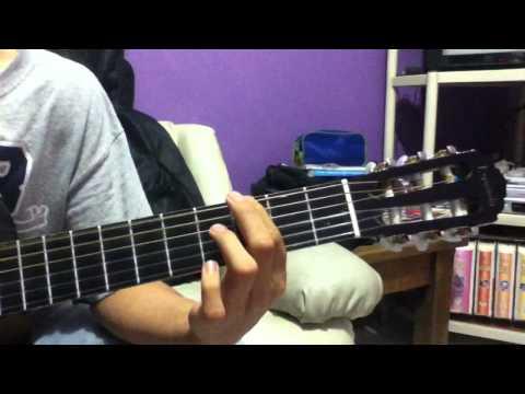 Tutorial de los simpson en guitarra