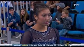 "Napualani ""Pua"" Hall (UCLA) - Vault (9.250) - Ohio State at UCLA 2018"