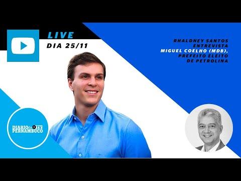 Rhaldney Santos entrevista o prefeito reeleito de Petrolina, Miguel Coelho