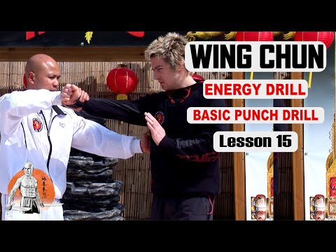 Basic Wing Chun Lesson basic Punch drill lesson 15 | Master Wong