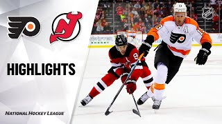 NHL Highlights | Flyers @ Devils 11/01/19