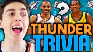 OKC THUNDER TRIVIA DRAFT! NBA 2K16 SQUAD BUILDER