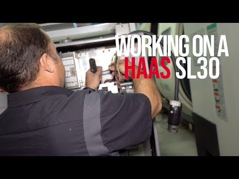 Fixing a Haas SL30