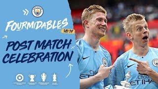 MAN CITY LIFT THE FA CUP | Man City 6-0 Watford, 2019 FA Cup final
