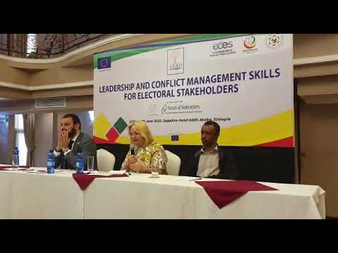 Terhi Lertinen, Deputy Head of EU Delegation to Ethiopia at PEC Ethiopia launch