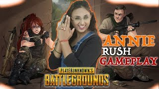 🔴PUBG MOBILE ||ANNIE LIVE ||RUSH GAMEPLAY||⭐️⭐️