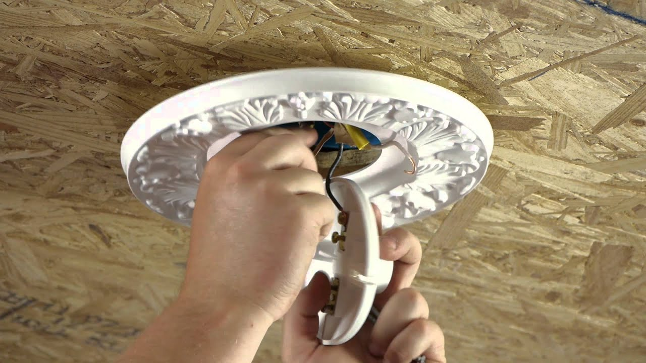 How To Hide Gaps Around A Ceiling Light Box Ceiling Fans