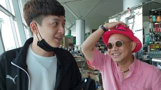"""Ngô Kiến Huy bất ngờ bị Color Man bắt """"quả tang"""" trốn đi nước ngoài vì thua độ World Cup"""