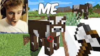 I Fooled A Streamer Using A Shapeshift Mod in Minecraft