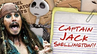Is Jack Sparrow Really Jack Skellington!? - Cartoon Conspiracy (Ep 206) | Channel Frederator