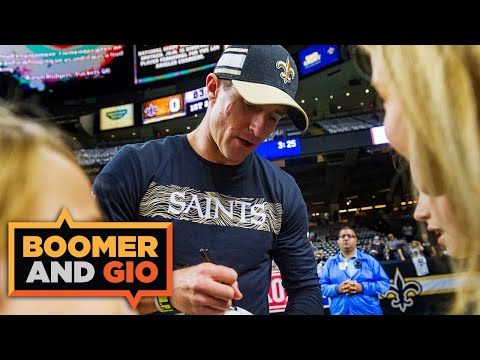 Drew Brees announces retirement and makes free agency even more interesting | Boomer and Gio