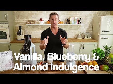 Vanilla, Blueberry & Almond Indulgence Jason Vale Blend