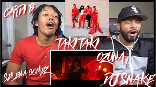 DJ Snake - Taki Taki ft. Selena Gomez, Ozuna, Cardi B   FVO REACTION