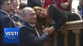 Putin Attends Eurasian Women's Forum: Traditional Families and Values Finally Given a Voice!