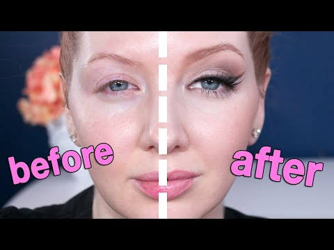 Fox Eye Makeup Tutorial on Droopy Eyes | (Eye Lift Without Surgery)