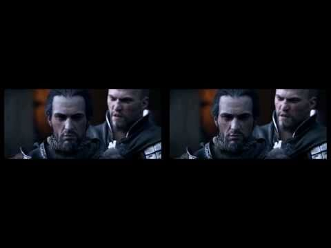 Assassins Creed Revelations E3 2011 Trailer (HD) в 3D