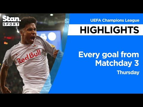 Every goal from Matchday 3 - Thursday   UEFA Champions League   2021-22