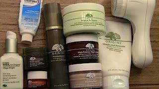 Review My Origins Skincare Routine