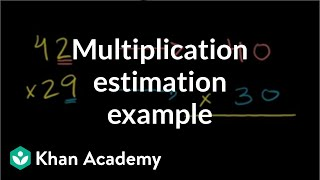 Multiplication estimation example