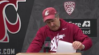 Mike Leach Signing Day Press Conference Dec. 20, 2017