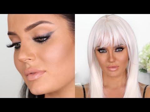 Flawless Base & Intense Smokey Wing Makeup Tutorial! Chloe Morello